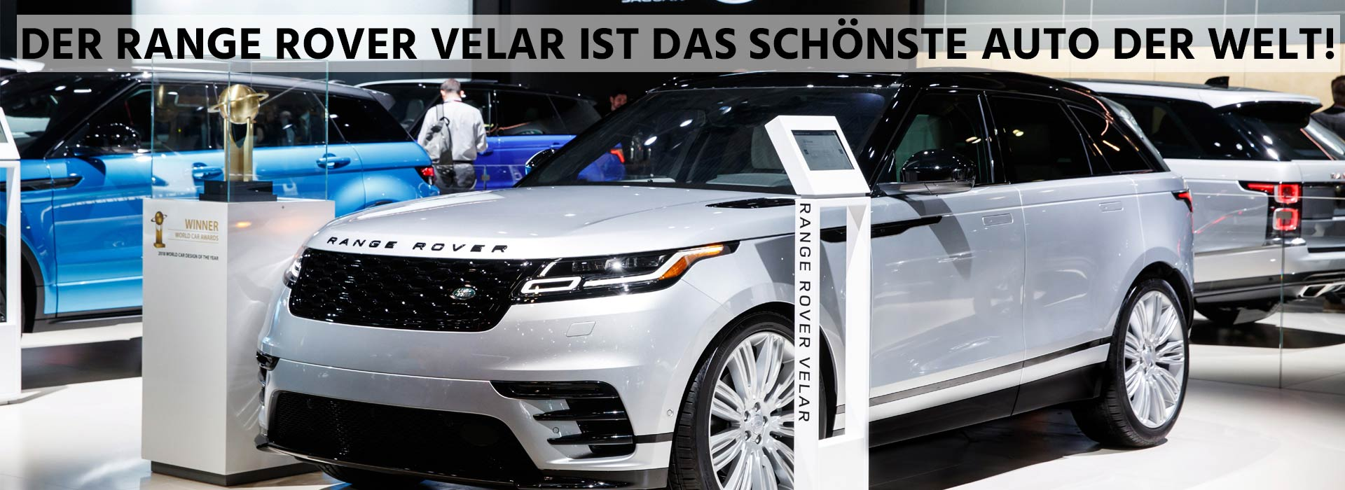 Range Rover Velar World Car Award 2018