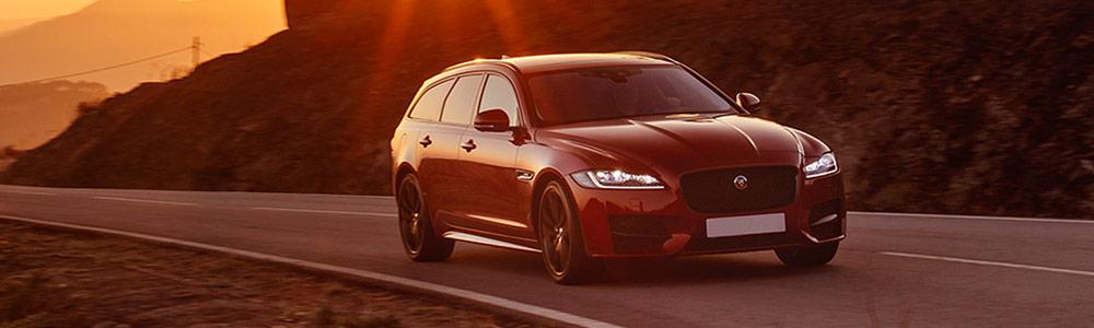 Jaguar XF Sportbrake dynamische Fahraufnahme