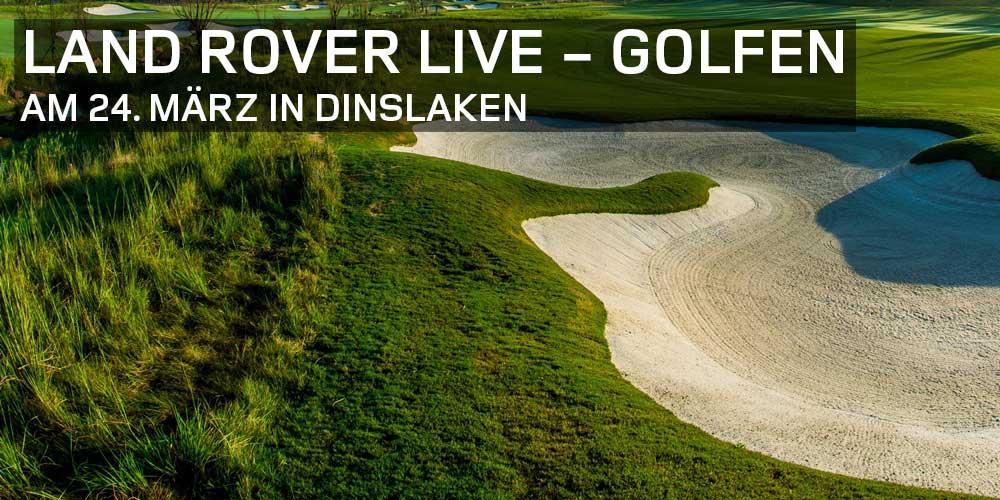 Land Rover Live - Golfen
