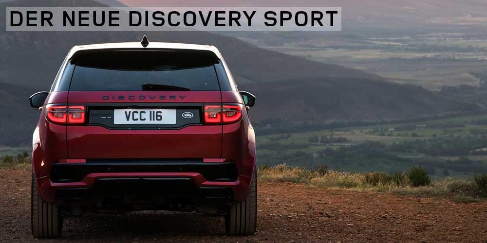 Der neue Discovery Sport