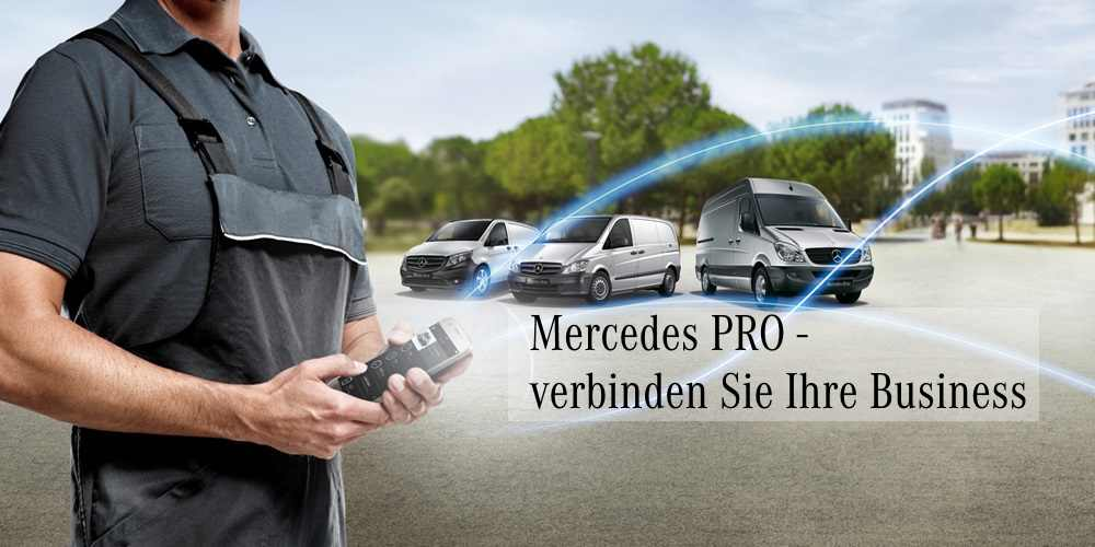 Foto Mercedes PRO connect