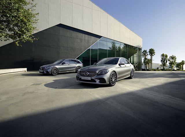 Foto Mercedes-Benz C-Klasse Limousine und T-Modell (2018)