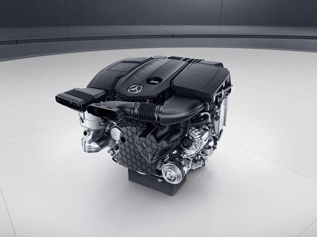 Foto Bilder Mercedes-Benz Vierzylinder-Dieselmotor OM654