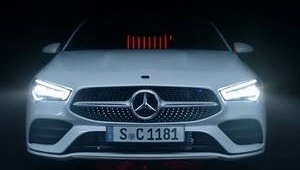 CLA Coupe Frontansicht