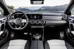 Mercedes-Benz CLA Shooting Brake - Innenraum