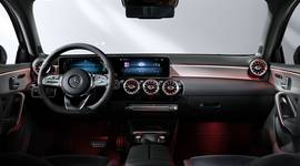 Armaturenbrett der Mercedes-Benz A-Klasse Limousine