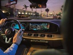 Mercedes-Benz GLE - Armaturenbrett