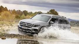Der Mercedes-Benz GLB im Gelände