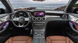 Mercedes-Benz GLC SUV Cockpitansicht