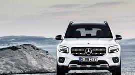 Frontansicht des Mercedes-Benz GLB