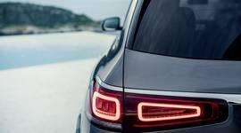 Mercedes-Benz GLS - Teilansicht der Heckleuchten