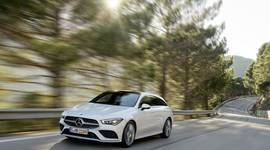 Mercedes Benz CLA Shooting Brake - in Fahrt