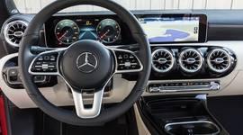 Mercedes Benz CLA Coupe - Innenraum