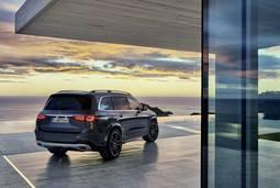 Mercedes-Benz GLS Heckansicht