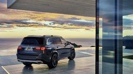 Mercedes-Benz GLS - im Sonnenuntergang