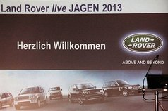 "10. Oktober 2013 - Land Rover Live ""Jagen"""