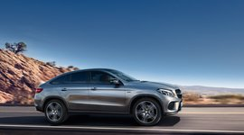 Mercedes-Benz GLE Coupé Seitenansicht