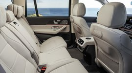 Mercedes-Benz GLS - Viel Platz auch auf den Rücksitzen