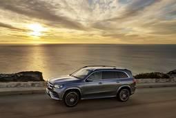 Mercedes-Benz GLS mit Sonne