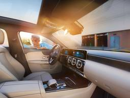 Innenraum der Mercedes Benz A Klasse Limousine