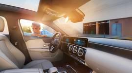 Der Innenraum der Mercedes-Benz A-Klasse Limousine
