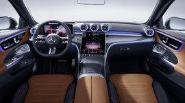Innenraum der Mercedes-Benz C-Klasse