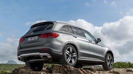 Mercedes-Benz GLC SUV Heckansicht