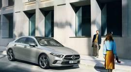 Die Mercedes-Benz A-Klasse Limousine - Seitenansicht