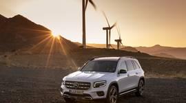 Der Mercedes-Benz GLB unterwegs