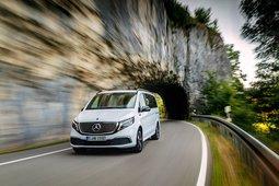 Mercedes-Benz EQV - unterwegs