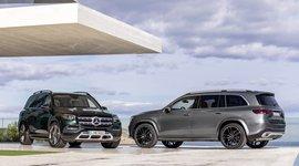 Mercedes-Benz GLS am Wasser