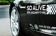 12. April 2014 - Jaguar F-Type Coupe Vorstellung - Bild 1