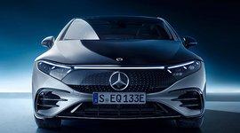 Frontansicht - Der Mercedes-Benz EQS