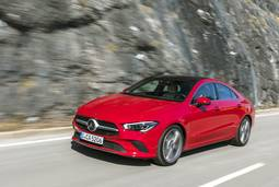 Mercedes-Benz CLA Coupe - Gefühl und Hightech