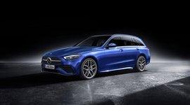 Seitenansicht der Mercedes-Benz C-Klasse