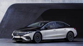 Seitenansicht des Mercedes-Benz EQS